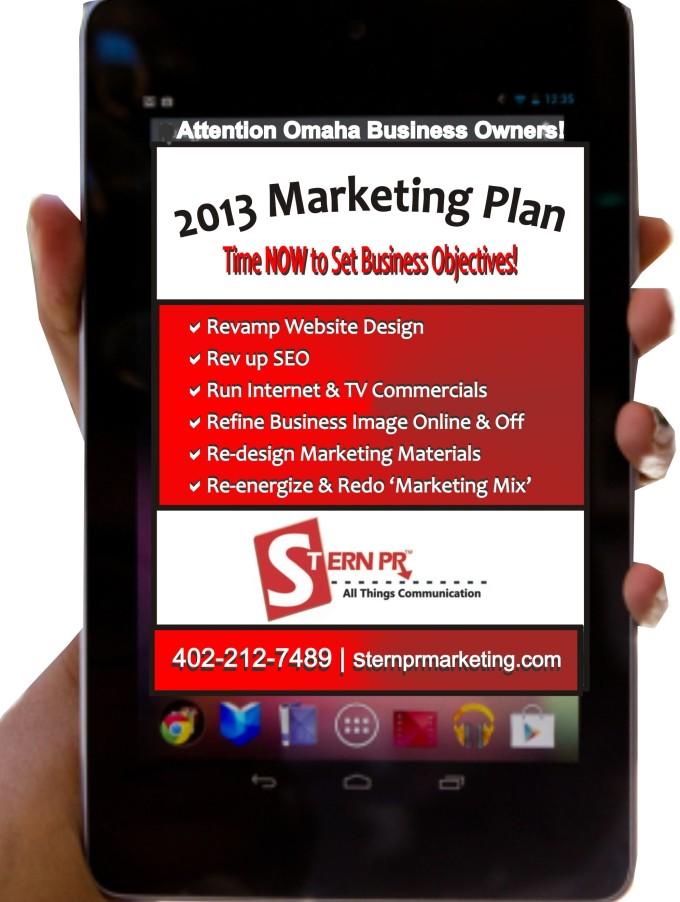 Omaha Website Design   Stern PR