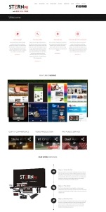 omaha website design firm nebraska stern pr snapshot