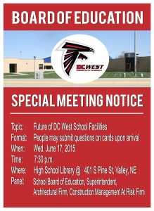 June 17th Special Meeting - Notice -